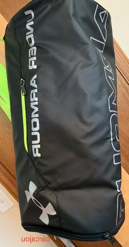 Under Armour Isolate Duffel Bag, Black, One Size