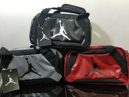 d198891f031 Editorial Pick Nike Jordan Insulated Soft Mini Duffel Lunch Bag Tote Red/Bl