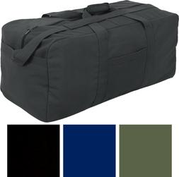 Jumbo Deluxe X-Large Assault Cargo Bag Carry Military Duffle