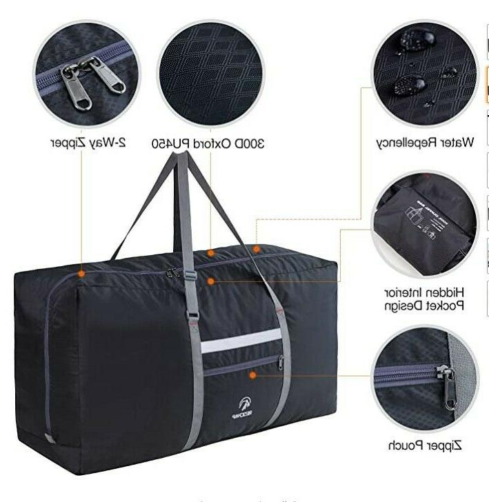 100L Foldable Duffle Bag Lightweight Sports Work