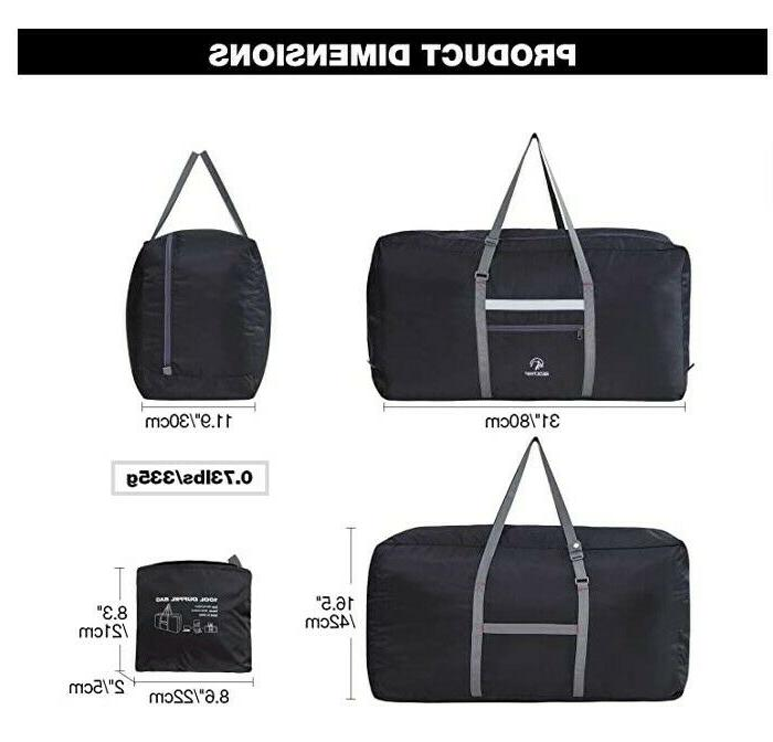 100L Foldable Duffle Lightweight Sports Gym