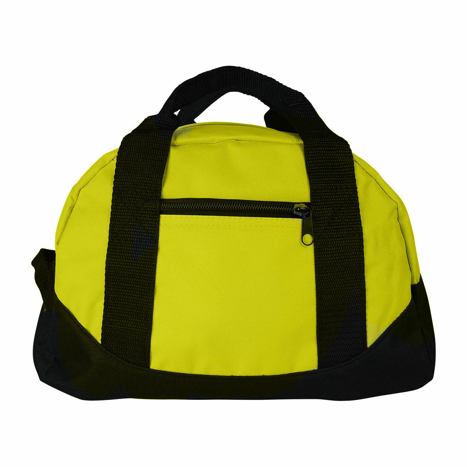 """12"""" Duffle Travel Sports Gym Bags Carry-on Luggage Small Tone"""