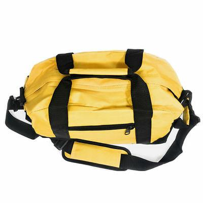 """Two Tone Bag Travel Sport Gym Carry On Weekender 14"""""""