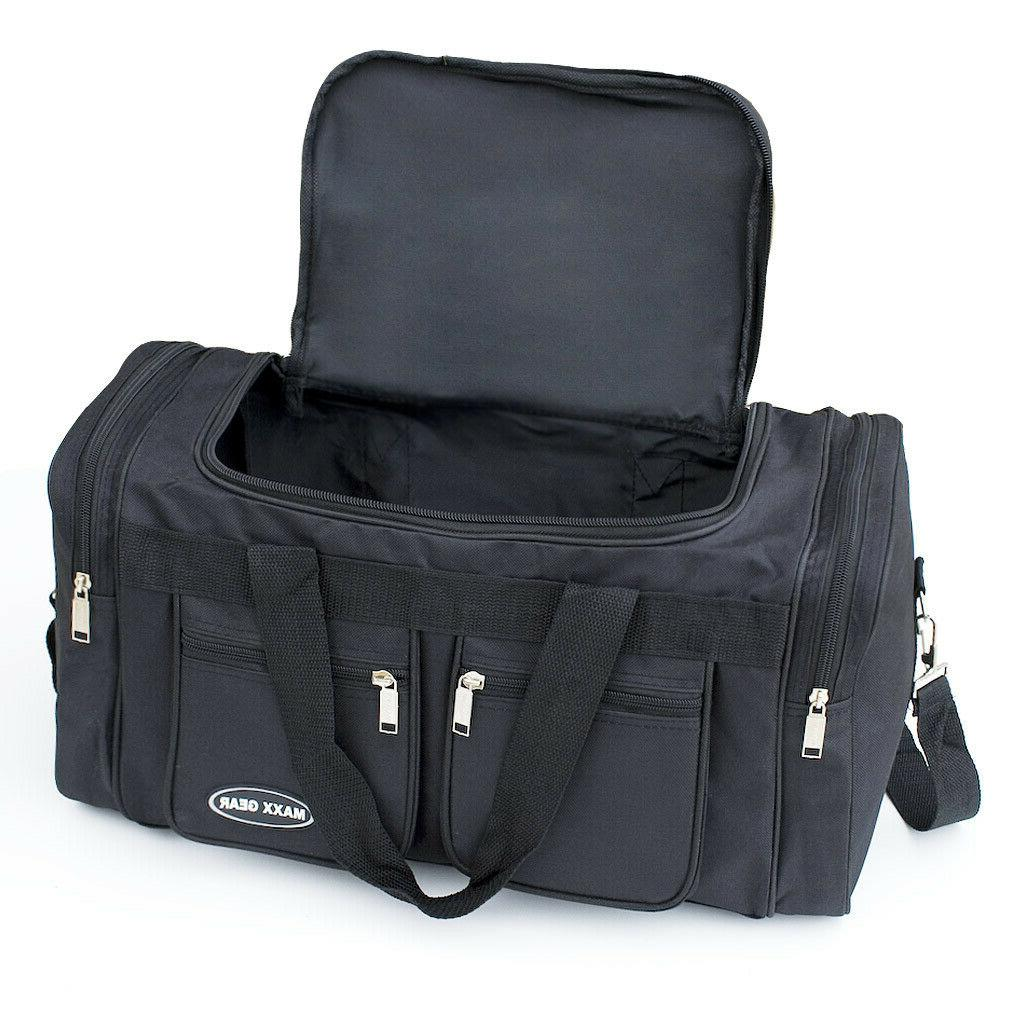 Duffle on Suitcase Strap New
