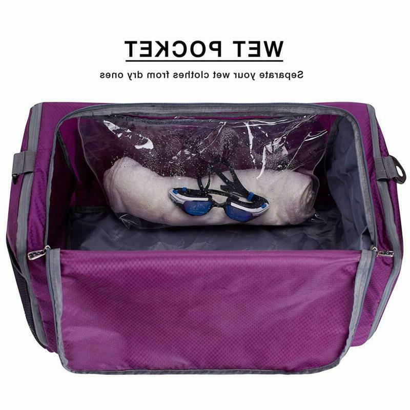 """20"""" Bag with Shoes Travel Duffel Bag"""