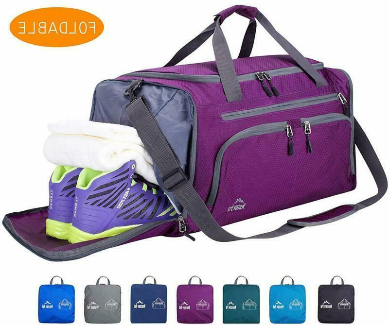 20 packable sports gym bag with wet