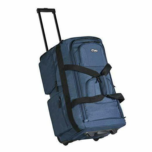 22 inch rolling duffle bag with wheels