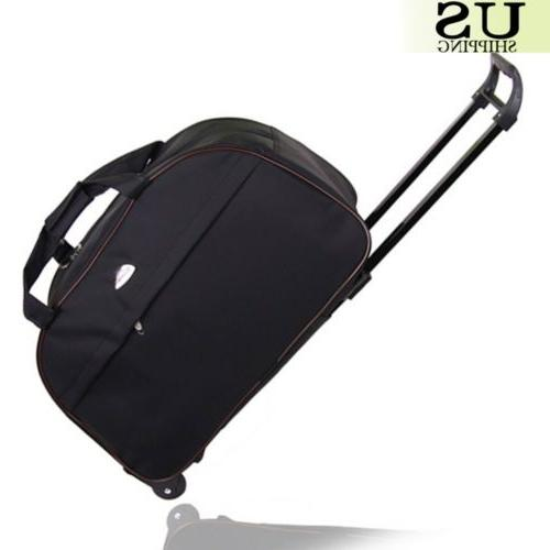 """24"""" Duffle Carry Luggage with Wheels"""