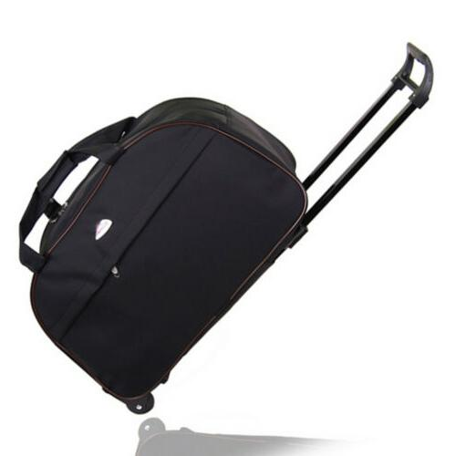 24 rolling wheeled duffle bag tote carry