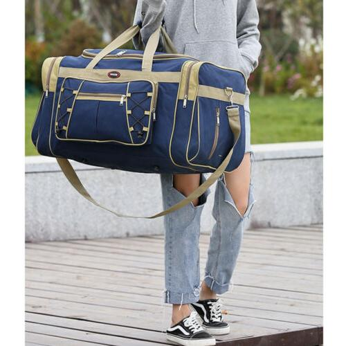"""26"""" Canvas Duffle Carry-on Overnight GYM Travel Tote"""