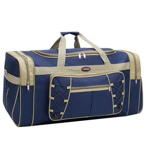 """26"""" Canvas Duffle Bag Carry-on GYM Tote Luggage Suitcase"""