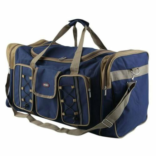 """26"""" Large Duffle Bag Carry-on Overnight GYM Travel Tote Lugg"""