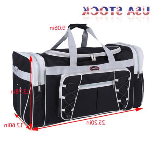 "26"" Duffle Bag Carry-on Overnight GYM Tote Luggage Suitcase"