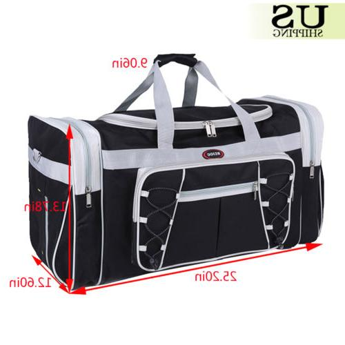 "26"" Travel Gym Duffle Carry Luggage"