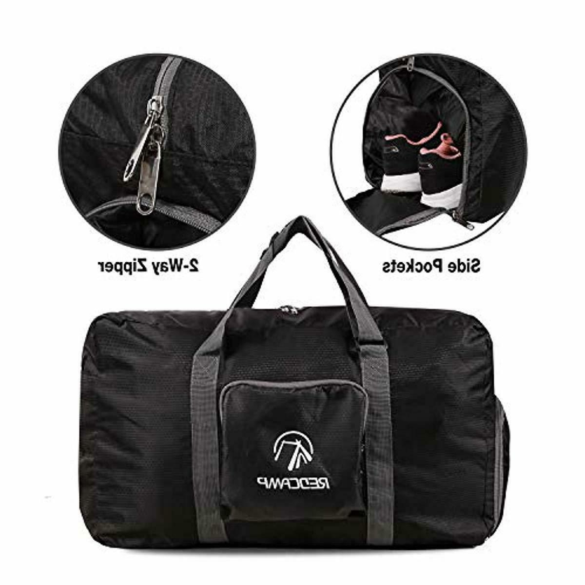Foldable with Compartment, Lightweight Travel Duff