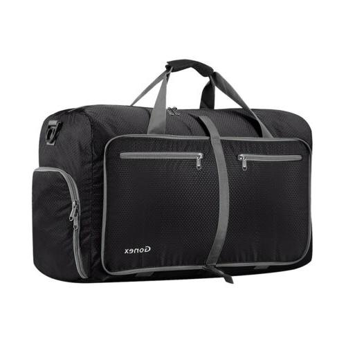 6 Colors Gonex 40L Foldable Travel Luggage Duffel Bag Water