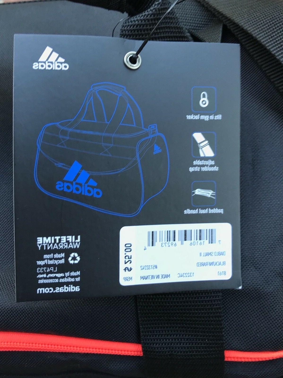 ADIDAS Bag Black Unisex Sz Small NWT