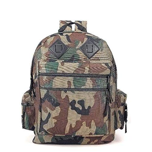 Deluxe Day Pack Camo Backpack