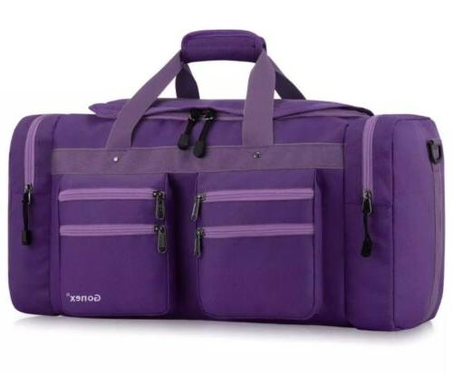 Gonex 45L Travel Duffel Bag Gym Water-resistant Carry-On