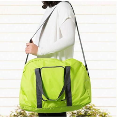 Green Youth Girls Packable Foldable Traveling Duffle Bag Spo