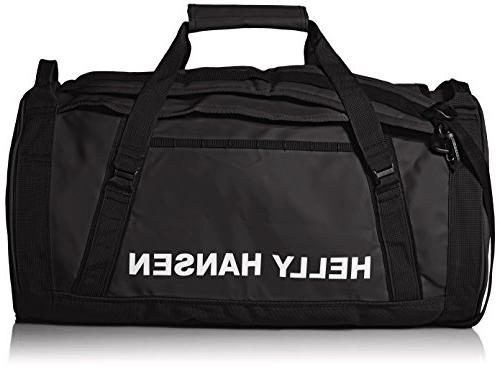 Helly Water Resistant Bag with Optional Straps, 90-liter , Black