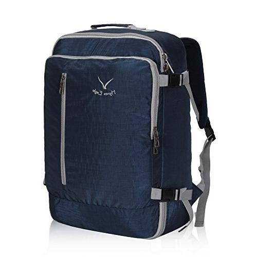 Hynes Eagle 38L Flight Approved Weekender Carry on Backpack,