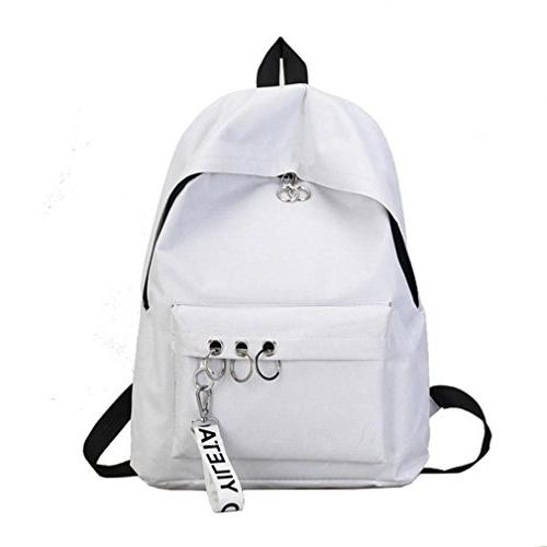 KKDKXW Travel Backpack Ring Bookbags Satchel Womens Backpack