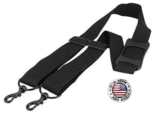 Made In USA Black Poly Webbing Replacement Travel Luggage Ba