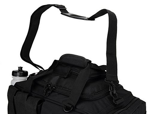 Made in USA x 60L Black Poly Web Replacement Luggage Travel Bag Strap Rubber Pad