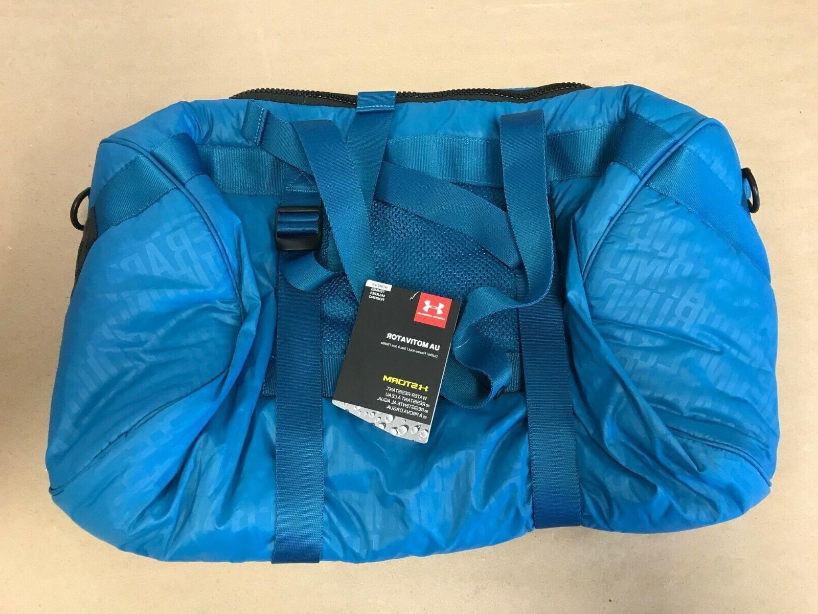 NWT Under Armour Women´s Bag Motivator Duffel Bayou Blue 12