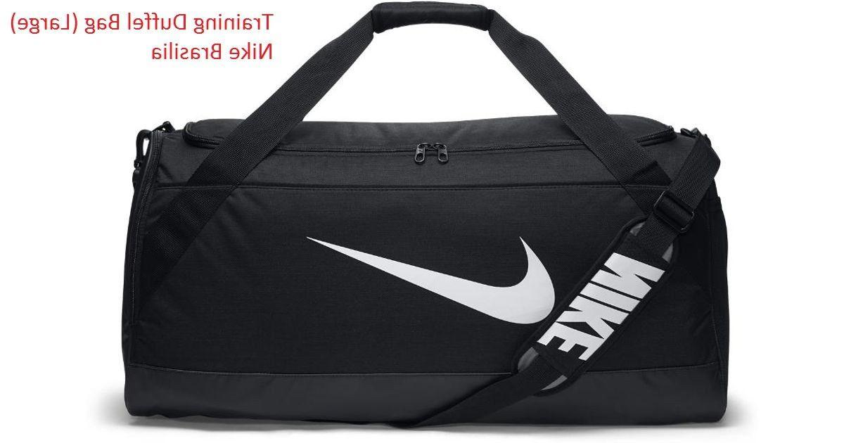 "Training Duffel Bag  Nike Brasilia "" BLACK "" NEW 100%"
