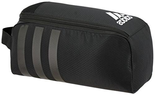adidas Stadium II Team Shoe Bag, Black, One Size