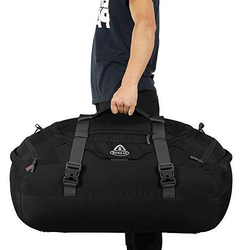 AIONE Duffel Backpack 4-Way Backpack Travel Luggage Bags with Shoe Compartments