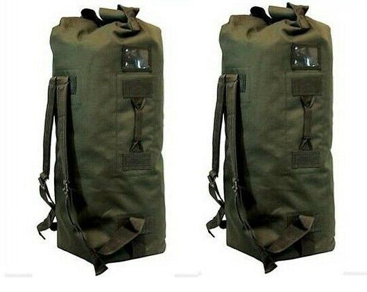 "LARGE ARMY  DUFFELBAG HUNTING GEAR DUFFEL BAG Bags 36"" Inche"