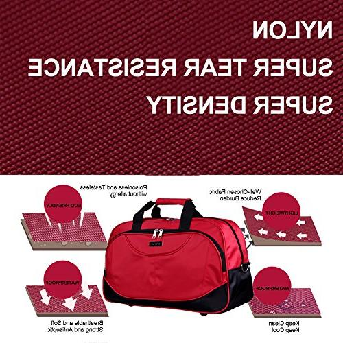 SIYUAN Athletic Tote Men's Foldable Travel Bag Trip Purple