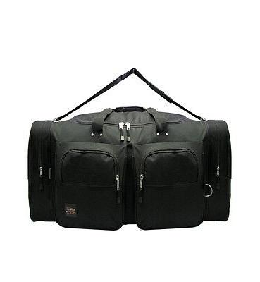"LARGE BLACK BAG Multi 28"" Travel"