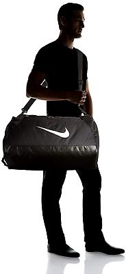 brasilia training duffel gym sports bag black