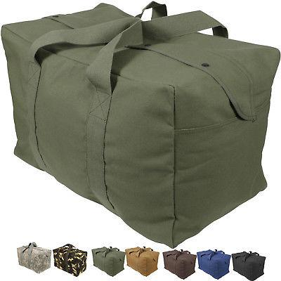 canvas cargo bag tactical heavy duty cotton