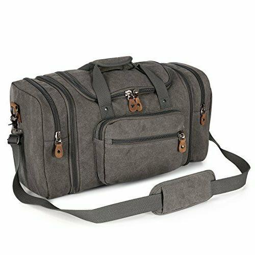 Canvas Two Way With Multiple Bag