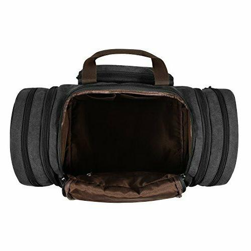 Canvas Duffle Way Zipper With Bag