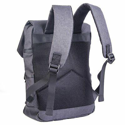 Elephant Weekender Backpack with Padded Laptop Pocket or
