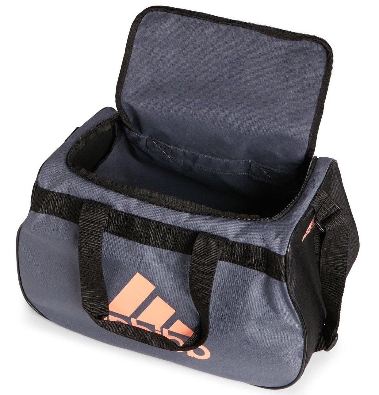Adidas Diablo Duffel Bag BLACK ORANGE TOP Fits LIFETIME