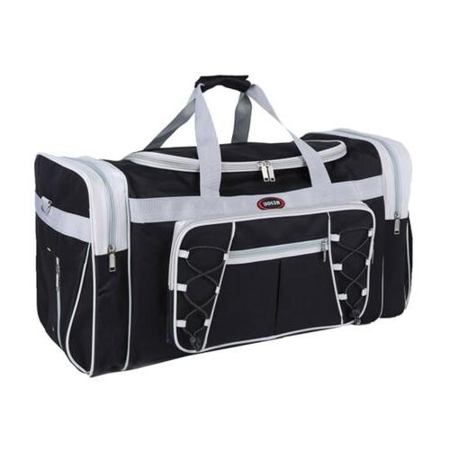 """26"""" Canvas Duffle Carry-on Tote Luggage Suitcase"""