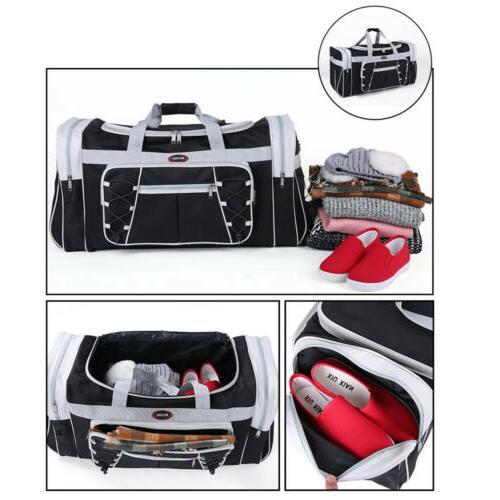 """26"""" Bag Carry-on GYM Travel Tote Suitcase &Strap"""