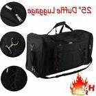 NEW Duffle Luggage Travel Gear Bag Everest Extra Large Black