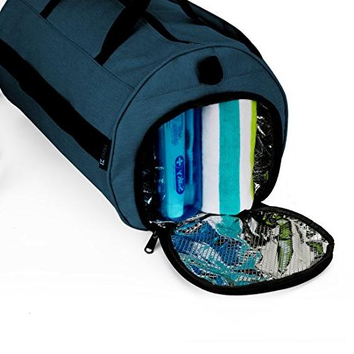 INOXTO Sport Gym with Shoes Compartment Travel Bag for Women and Men