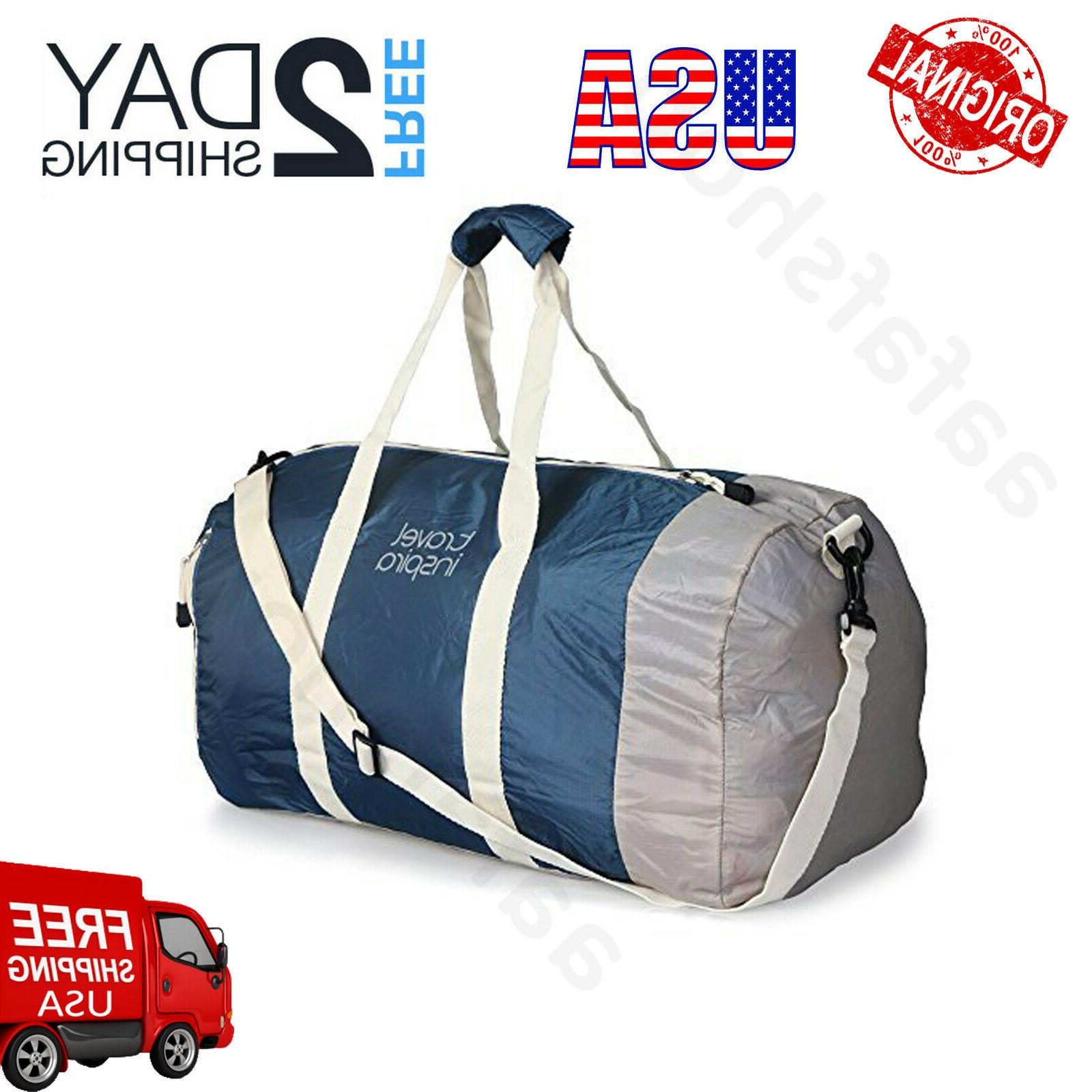 Travel Inspira Foldable Duffel Travel Duffle Bag Collapsible