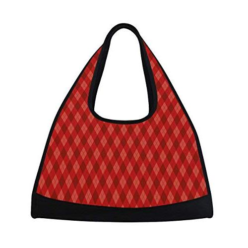 gym bag valentine day stripe