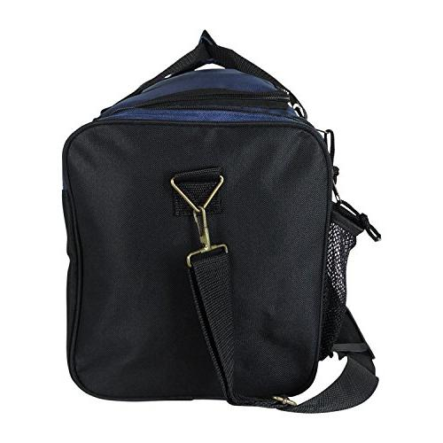 Dalix Inch Duffle with Mesh and Valuables Pockets, Blue