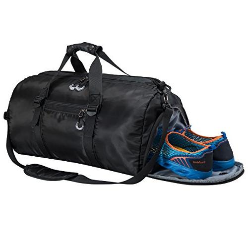 346792dd6bb5 Gym Sports Duffel Bag with Shoes Compartment and